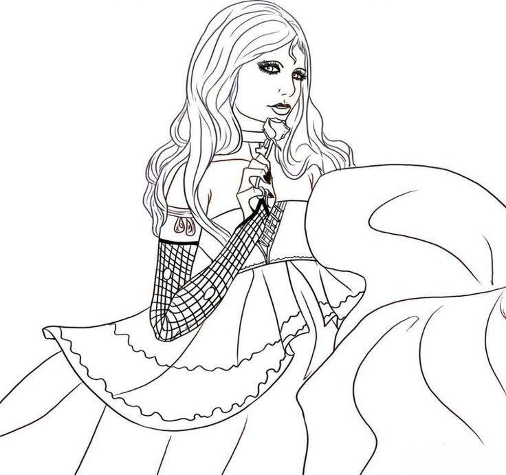 Free Vampire Coloring Pages To