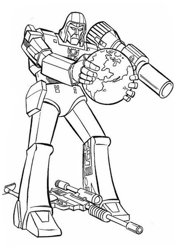 Transformers, : Decepticon Want to Destroy Earth in Transformers Coloring  Page | Transformers coloring pages, Toy story coloring pages, Coloring pages