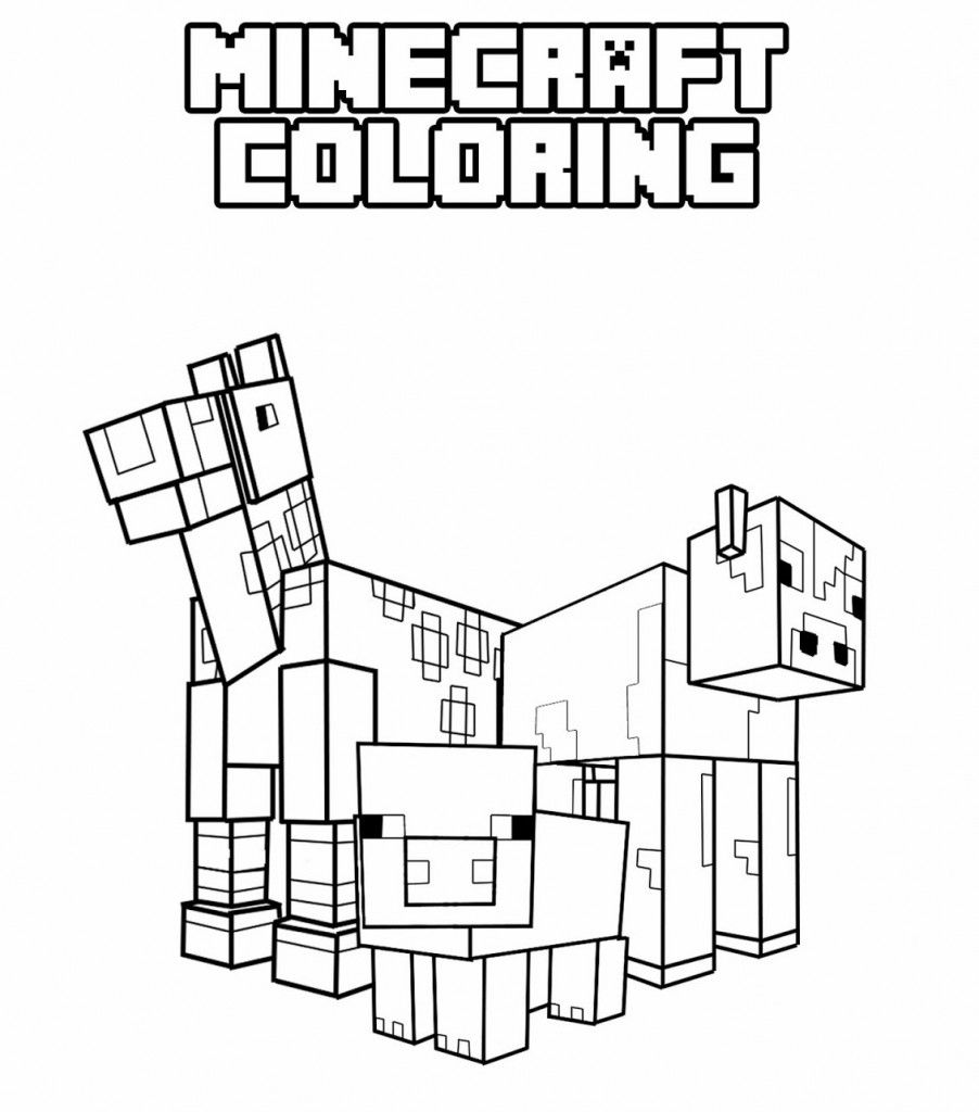 13 Pics of Cool Minecraft Coloring Pages - Minecraft Coloring .