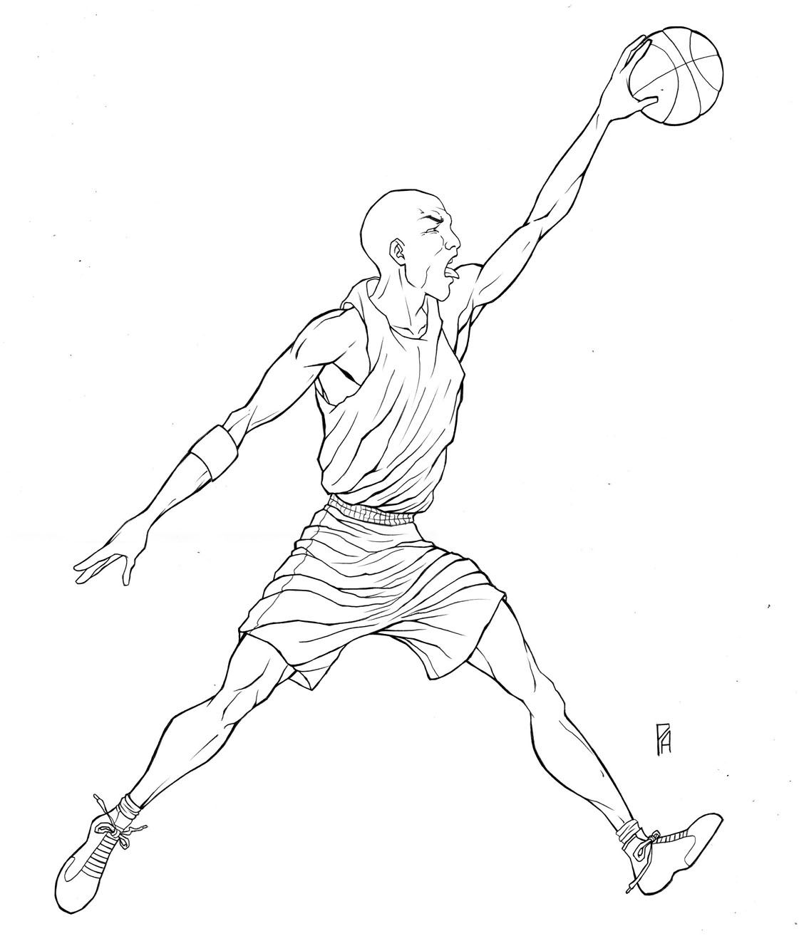 jordan coloring pages for kids - photo#12