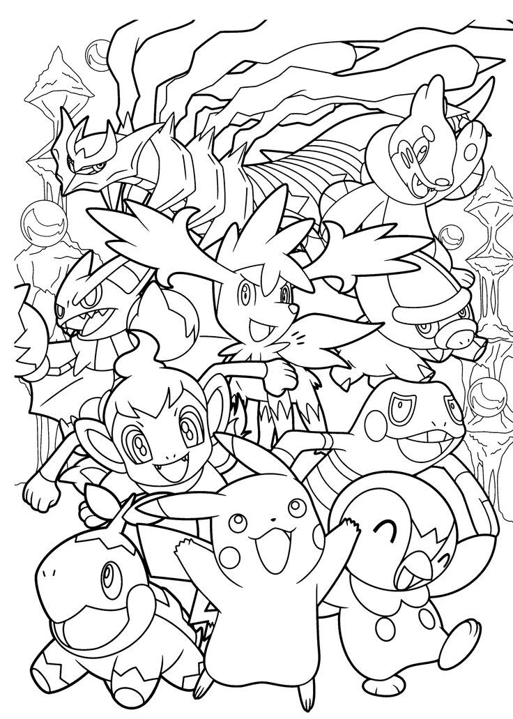 Pokemon Coloring Pages Free Printable | Free Coloring Pages