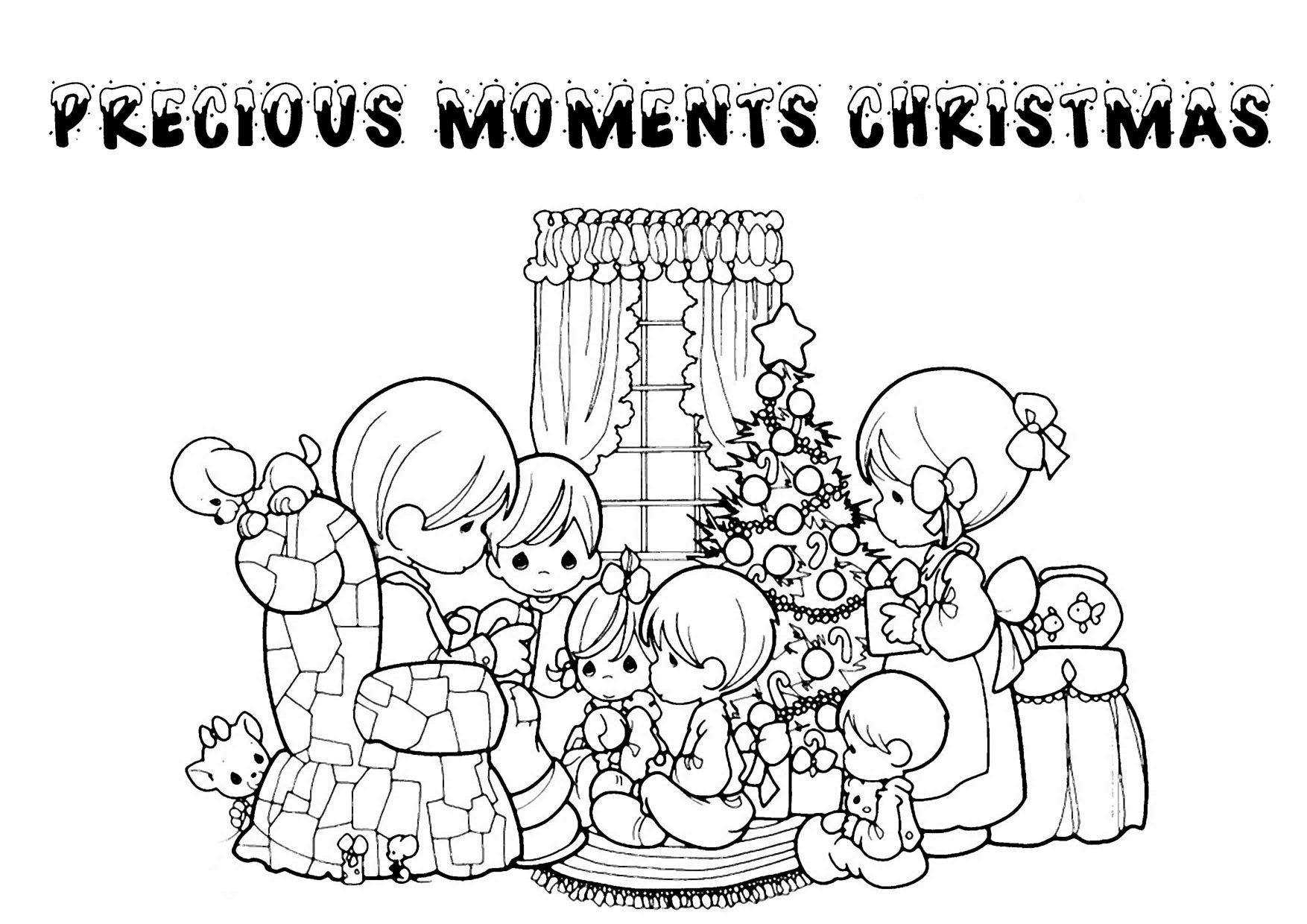 Christmas Religious Printable Coloring