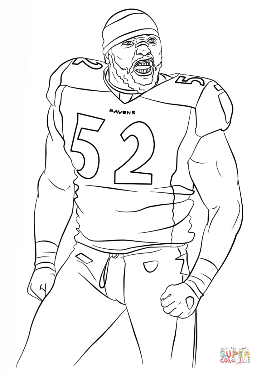 Baltimore Ravens Coloring Page Coloring Home