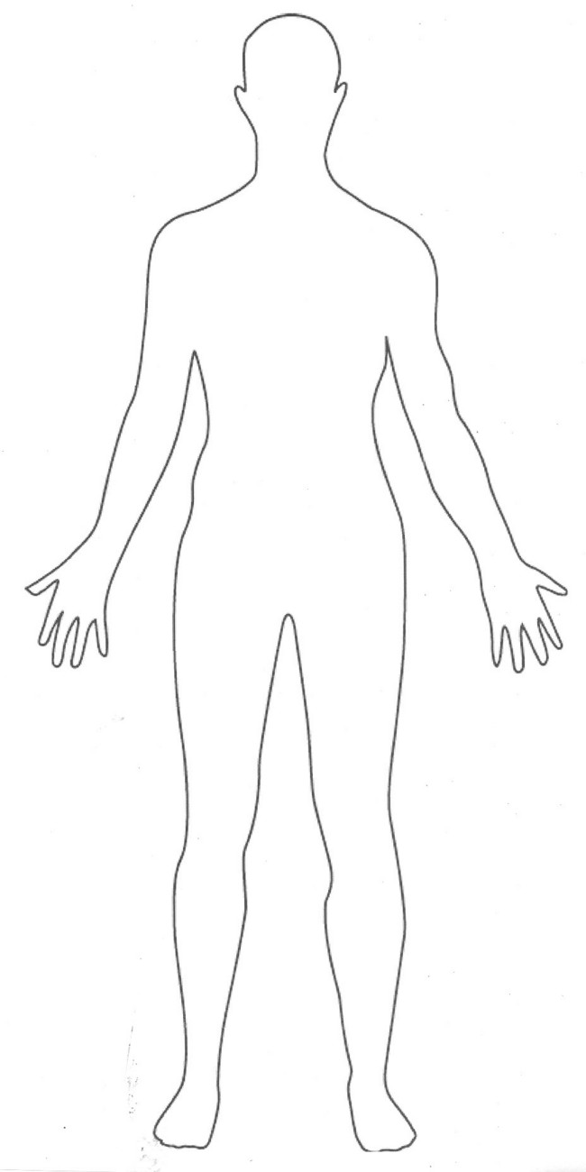 free human body coloring pages - photo#31
