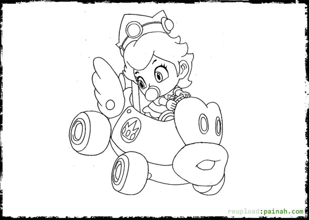 Epic Princess Peach Coloring Pages 65 About Remodel Print