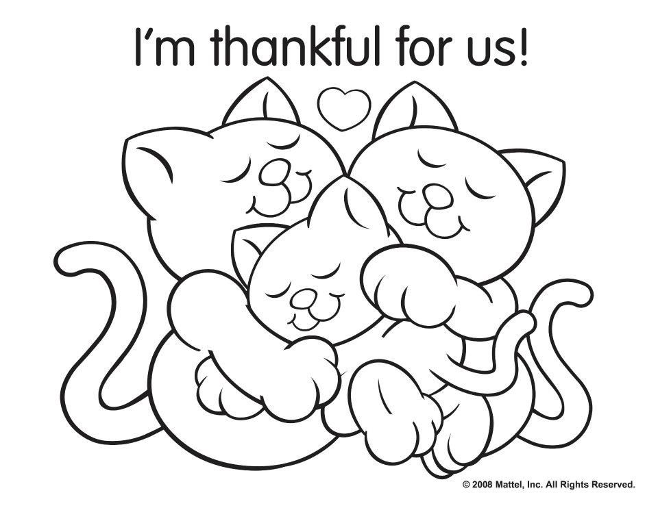 Thanksgiving Coloring Pages Printable Colorine Net 17008