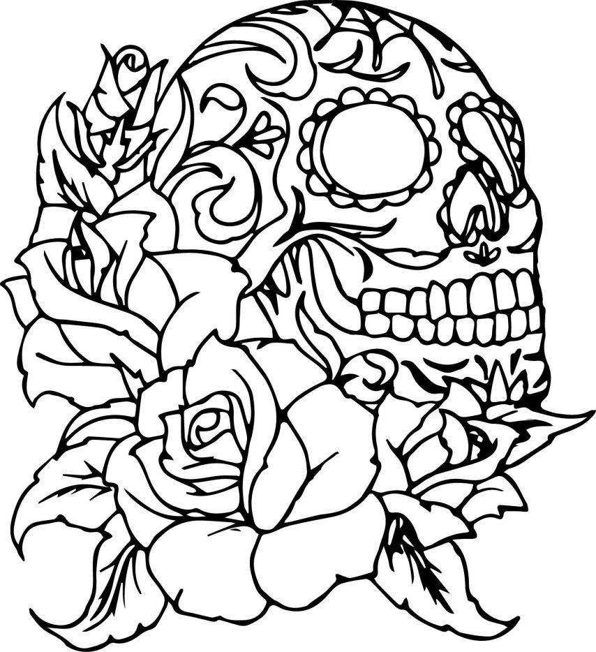 sugar skulls coloring pages coloring skull skullcandy coloring