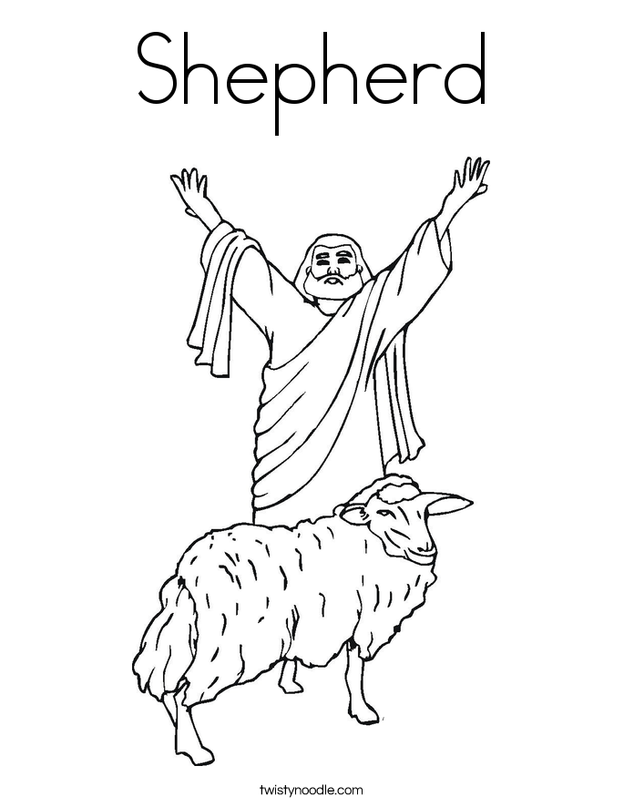The Lord Is My Shepherd Coloring Pages Coloring Home The Lord Is My Shepherd Coloring Page