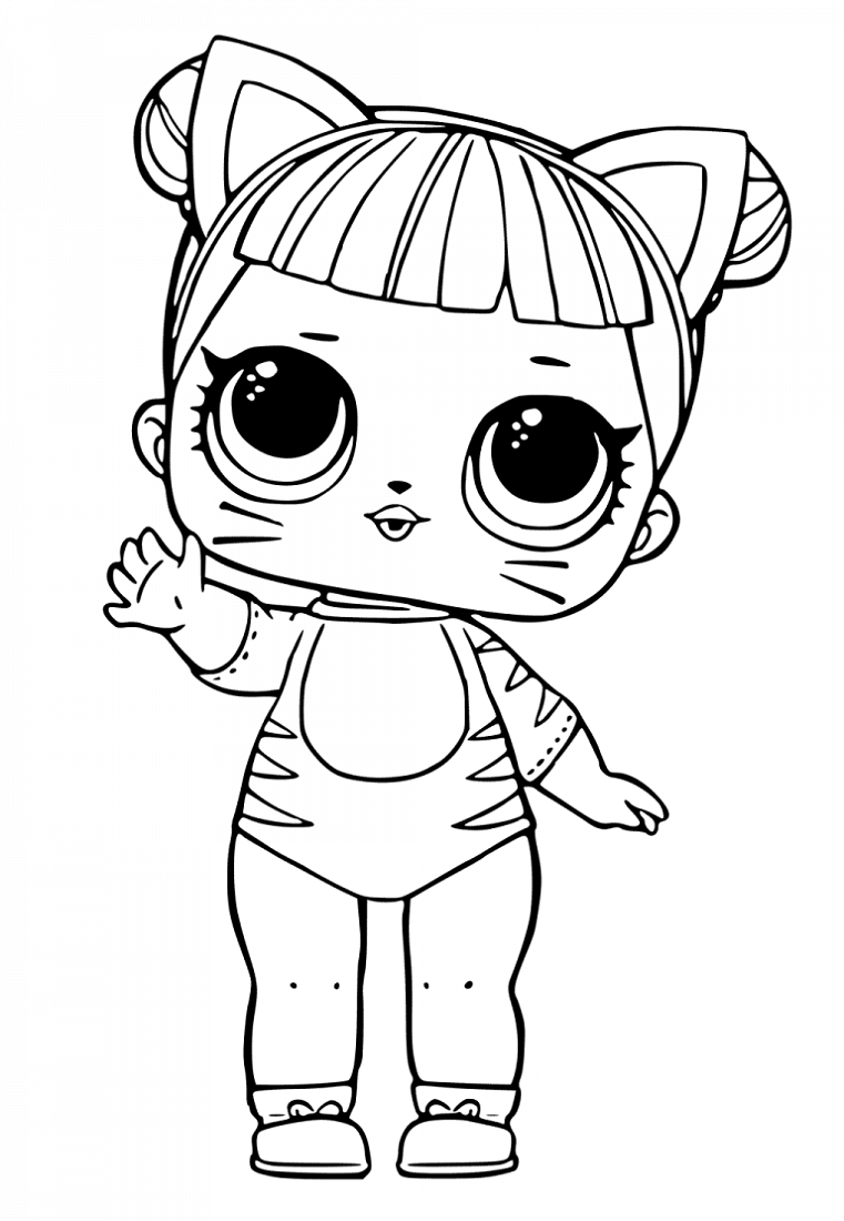 Lol Doll Coloring Pages - Coloring Home