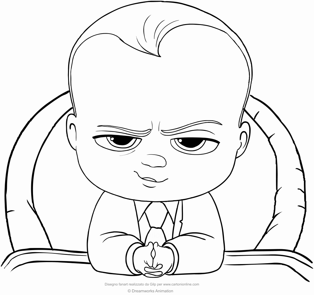 The Boss Baby Coloring Pages at GetDrawings.com | Free for ...