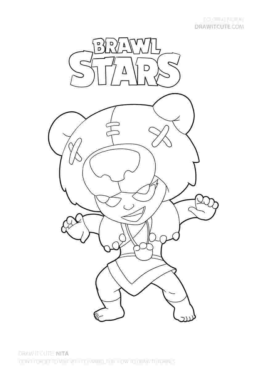 020 How To Draw Poco Super Easy With Coloring Page C Brawl ...