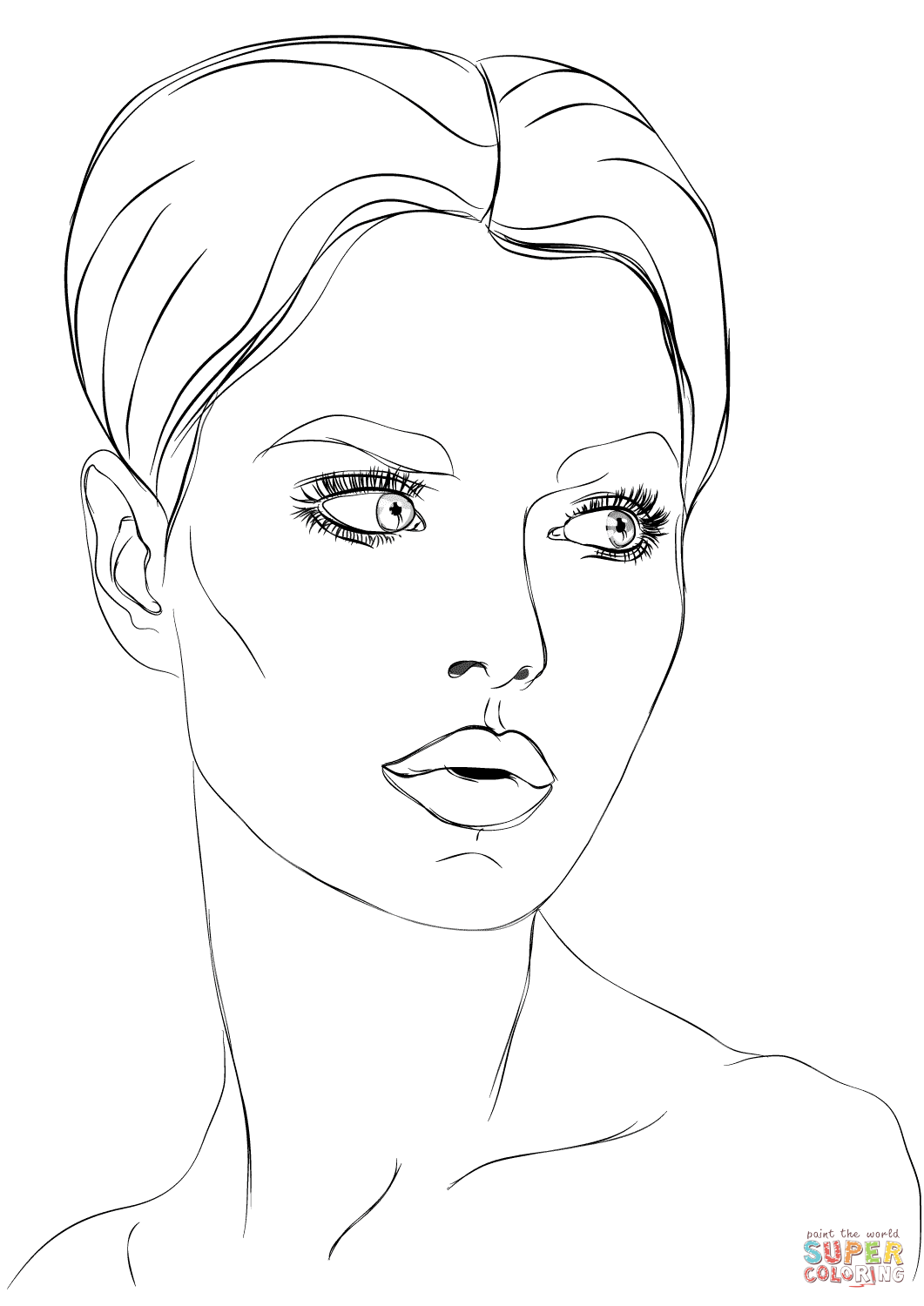 Coloring Pages : Coloring Pages Free Makeup Purses And For ...