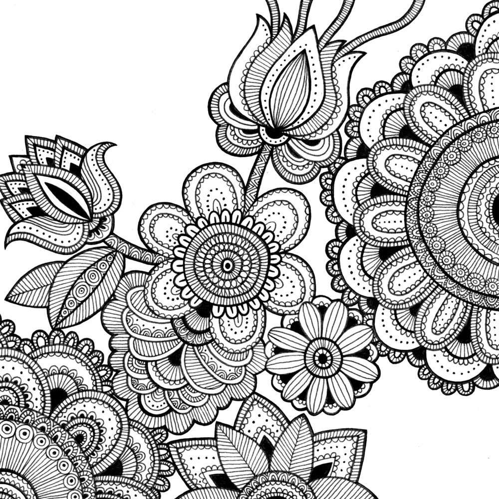 coloring pages intricate patterns illustrator - photo#14