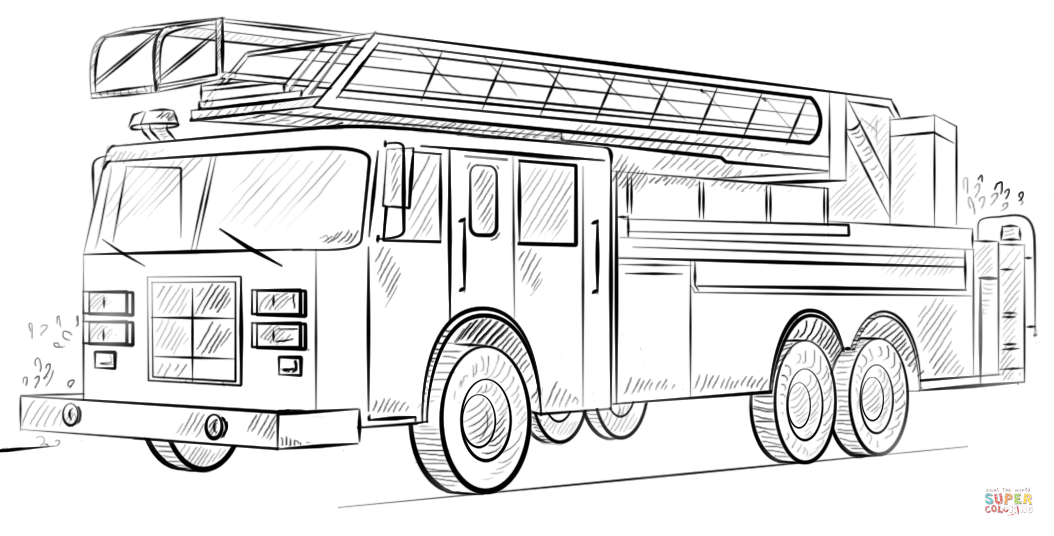 - Free Printable Fire Truck Coloring Pages - Coloring Home