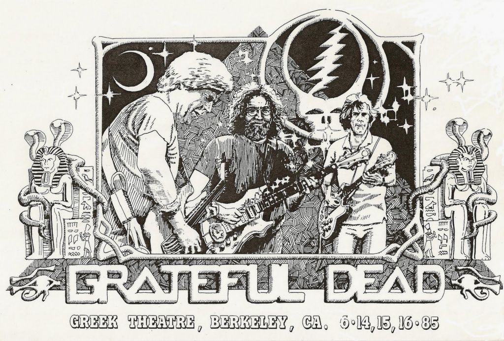 Grateful Dead Coloring Pages Free