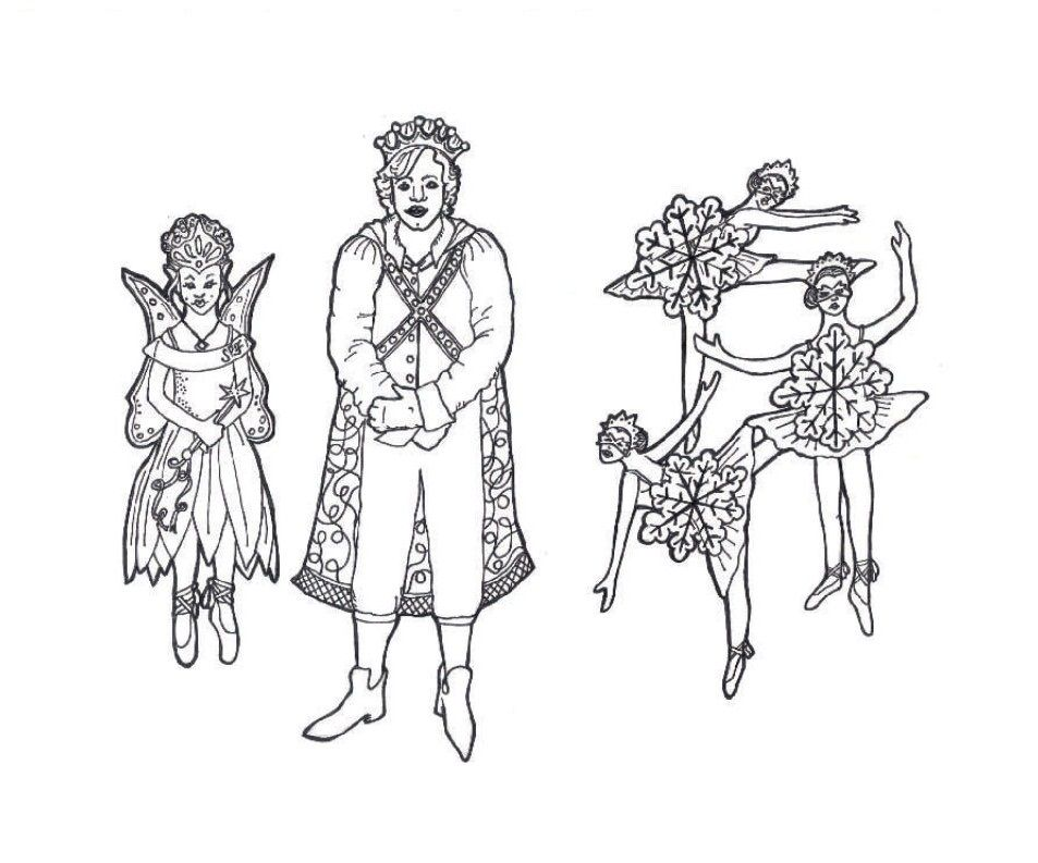 free nutcracker coloring pages - nutcracker ballet coloring page coloring home