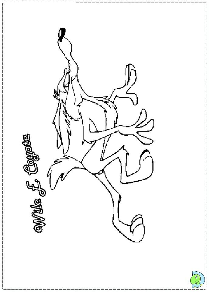 wile e coyote coloring pages - photo#14