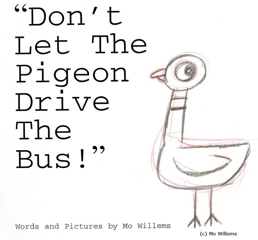 Don't Let the Pigeon Drive the Bus!: Mo Willems: 9780786819881 ...