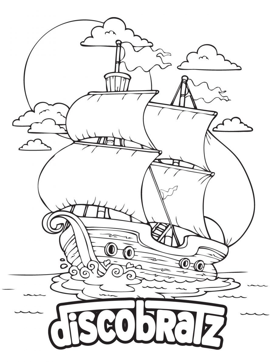mayflower boat coloring pages - photo#33