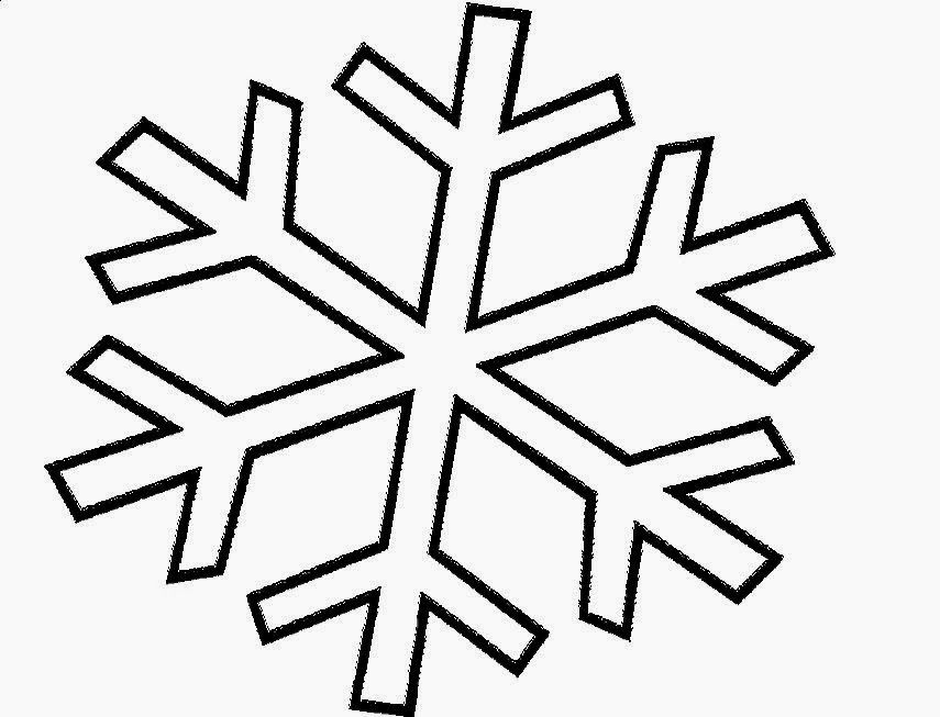 Snowflake Coloring Pages Printable