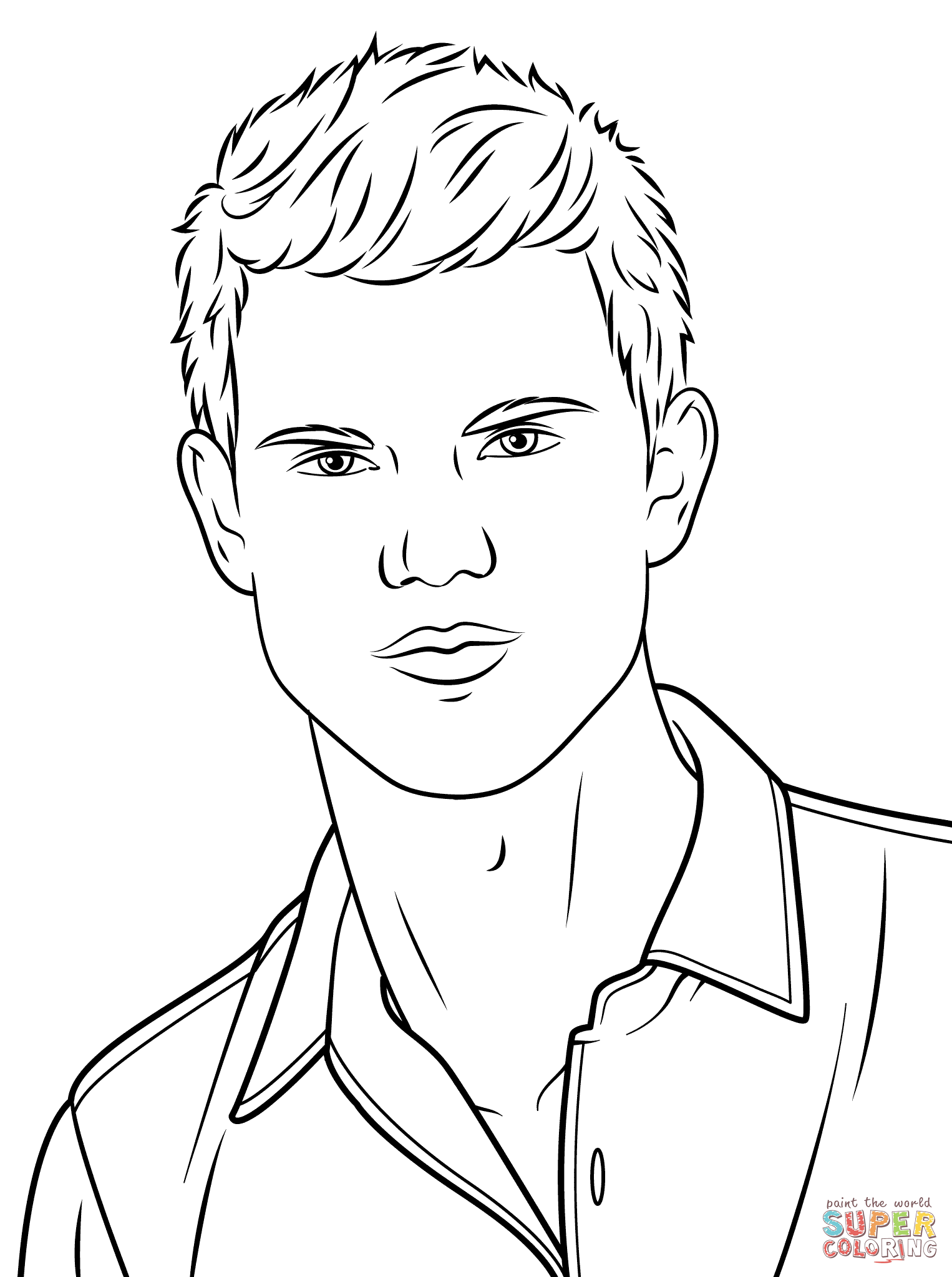 Taylor Swift Coloring Page | Free Printable Coloring Pages ...