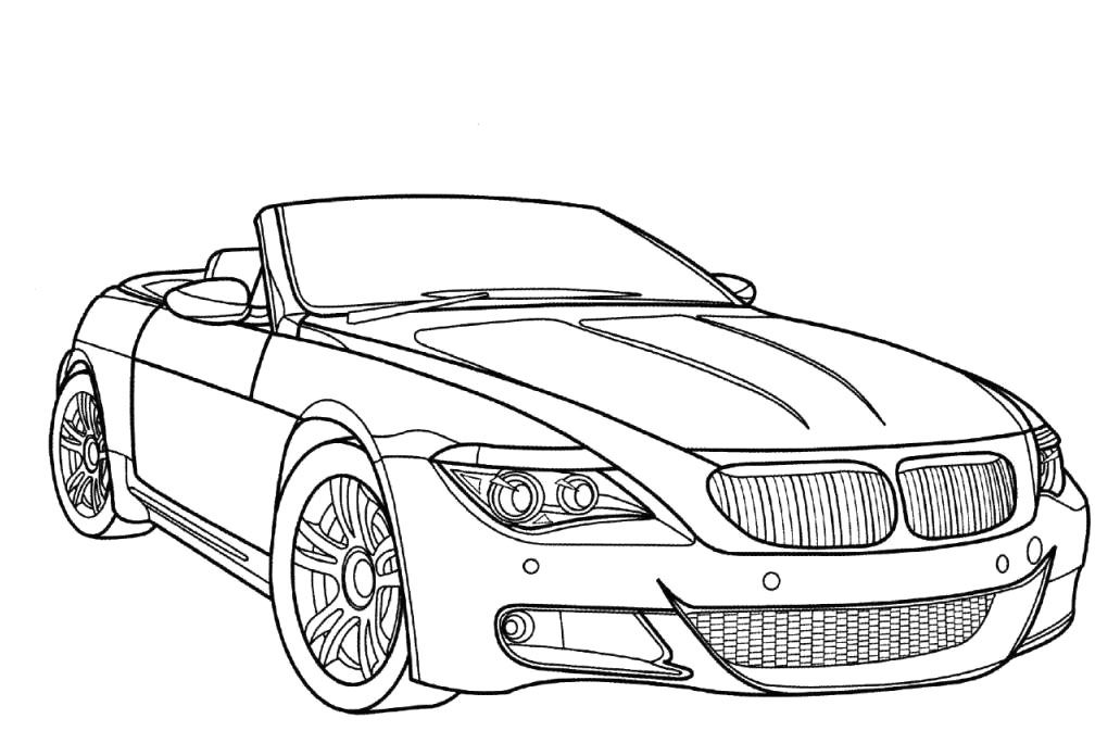 bmw printable coloring pages - photo#14