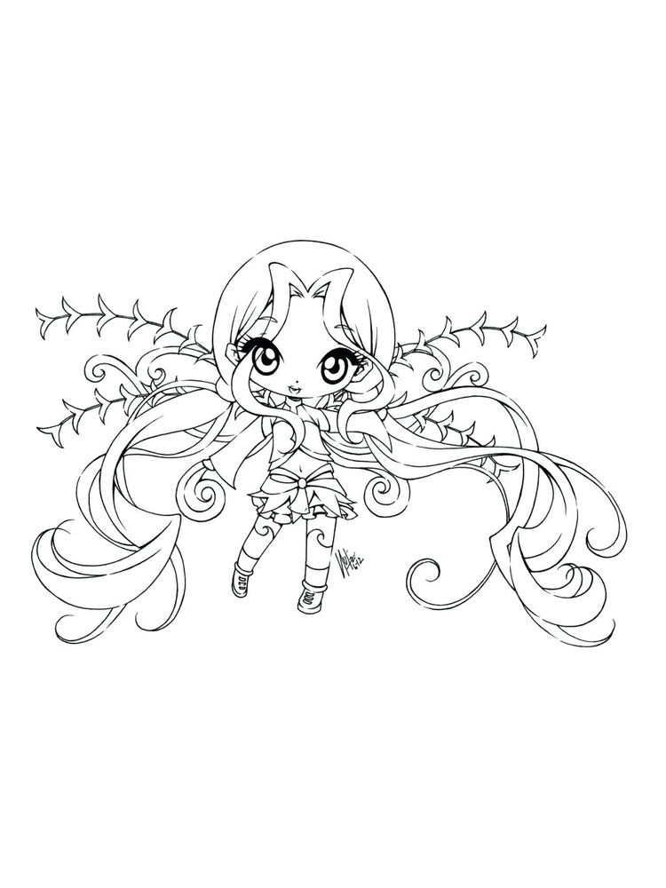 Cute Fairy Coloring Pages Coloring Home