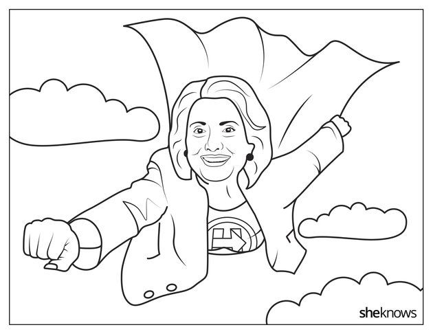 coloring pages for democratic party - photo#19