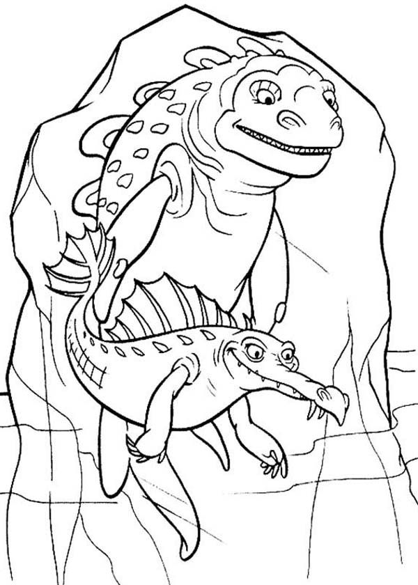 ice age animals coloring pages - photo#3