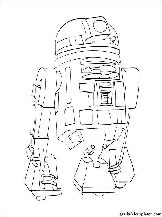 Gratis Kleurplaten Star Wars.11 Pics Of War Robots Coloring Pages Star Wars Robots Coloring