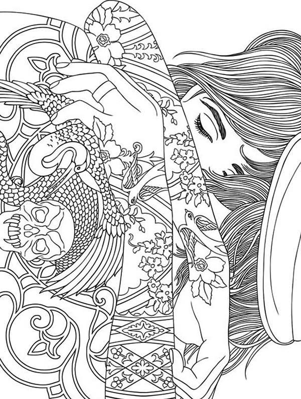 Trippy coloring pages sun - ColoringStar