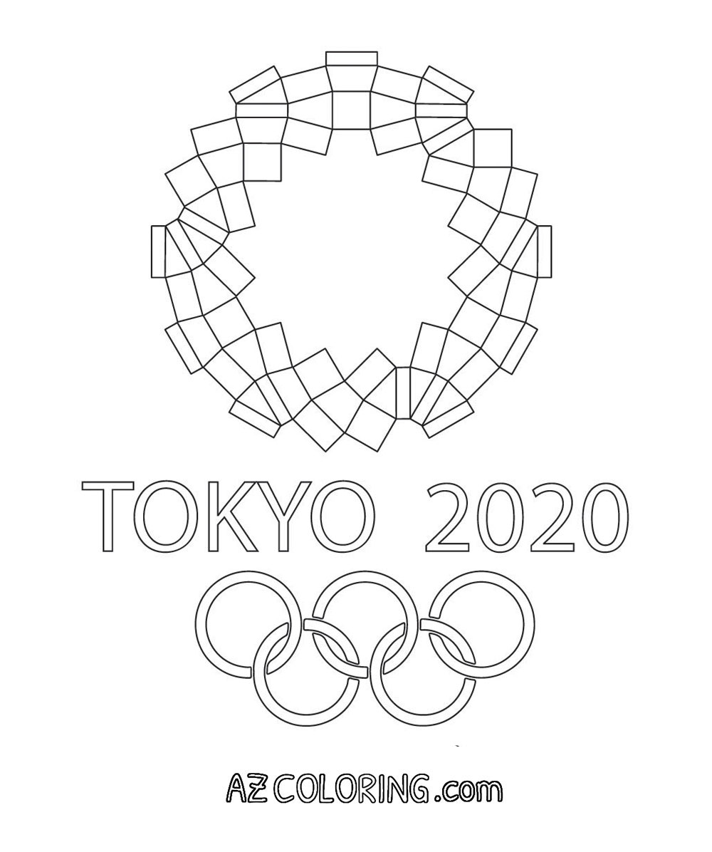 Tokyo 2020 Olympics Coloring Pages - Coloring Home