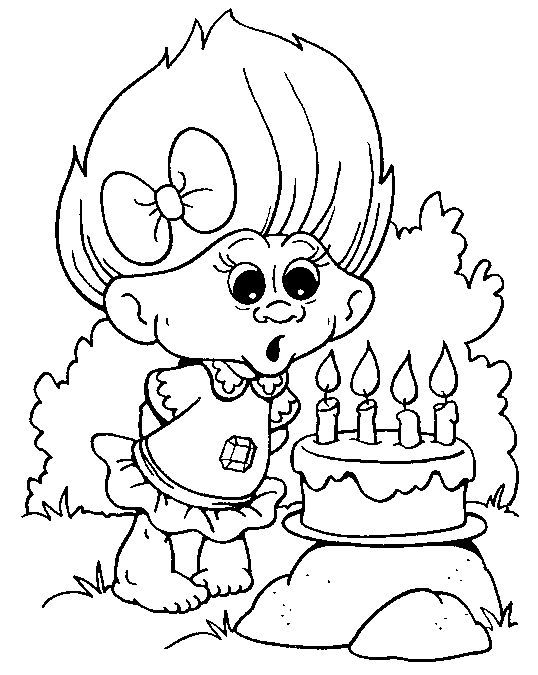Trolls Movie Coloring Pages Coloring Home