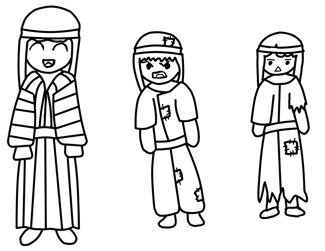 Free coloring pages joseph coat many colors - Coloring Page Joseph S Coat By Dj Koko On Deviantart