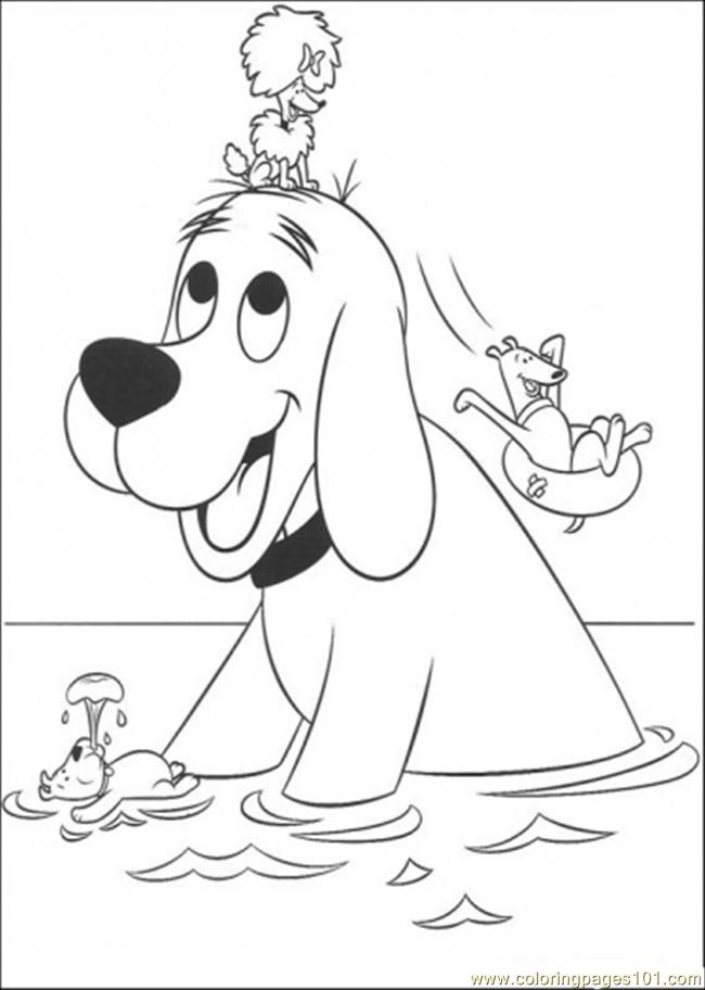 Clifford Coloring Pages To Print