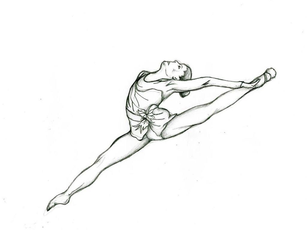 gymnastics coloring pages | Only Coloring Pages