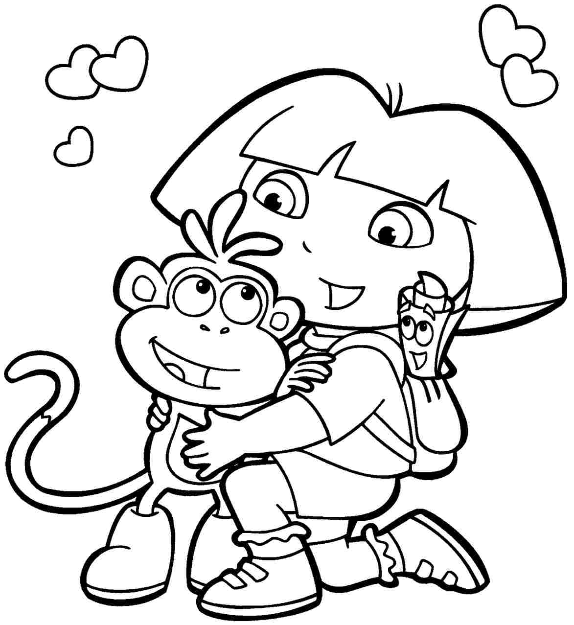 coloring pages toddler coloring home