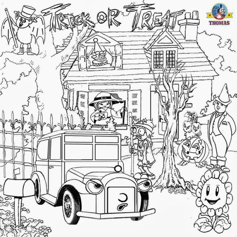 Advanced Halloween Coloring Pages To Print : Printable halloween coloring pages for adults home