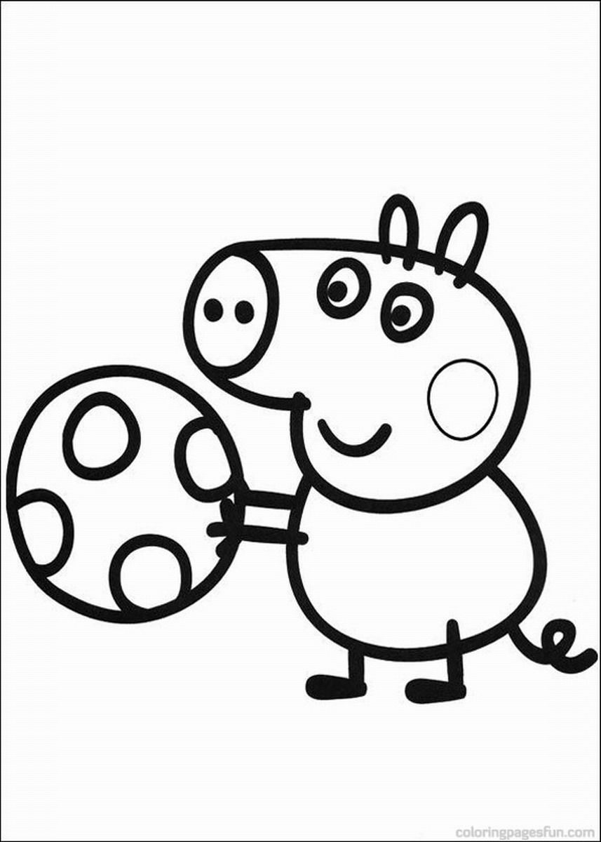 - Peppa Pig Coloring Pages €� Birthday Printable - Coloring Home