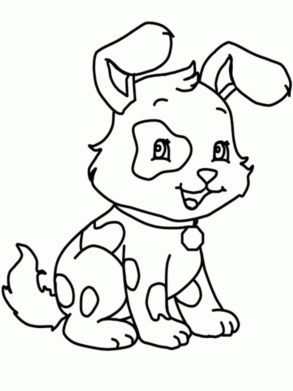 coloring dog coloring pages for kids dog with a blog coloring