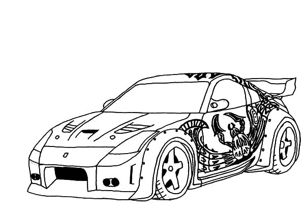 Nissan Coloring Pages Coloring Home