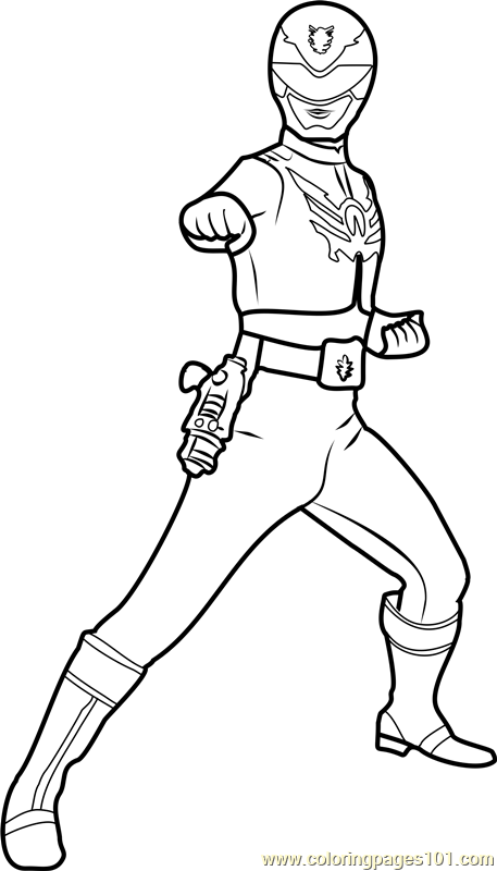 Power Ranger Red Coloring Page - Free Power Rangers Coloring Pages :  ColoringPages101.com
