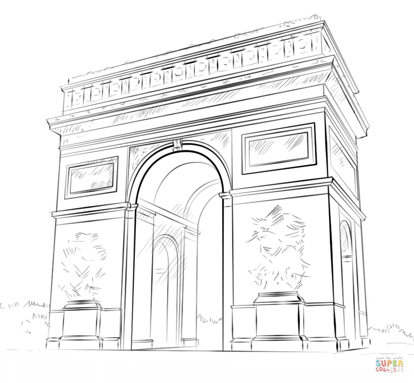 france coloring pages - photo#32