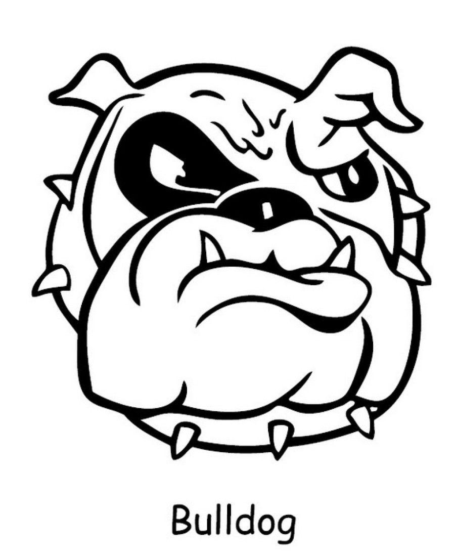 Bulldog Coloring Pages Printable