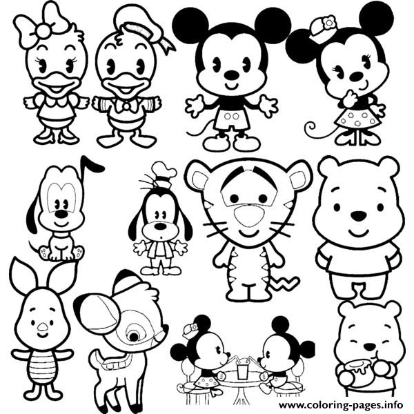 - Disney Cuties Tsum Tsum Coloring Pages Printable - Coloring Home