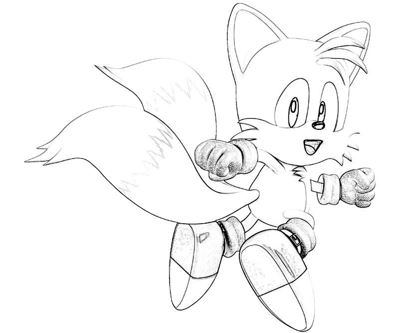 tails coloring pages coloring home