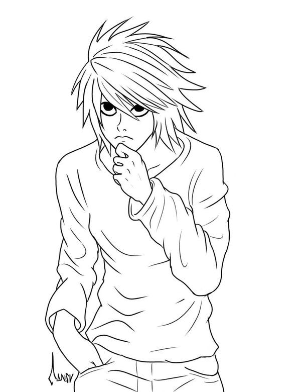 Death Note | Coloring Pages | Pinterest | Stampabili