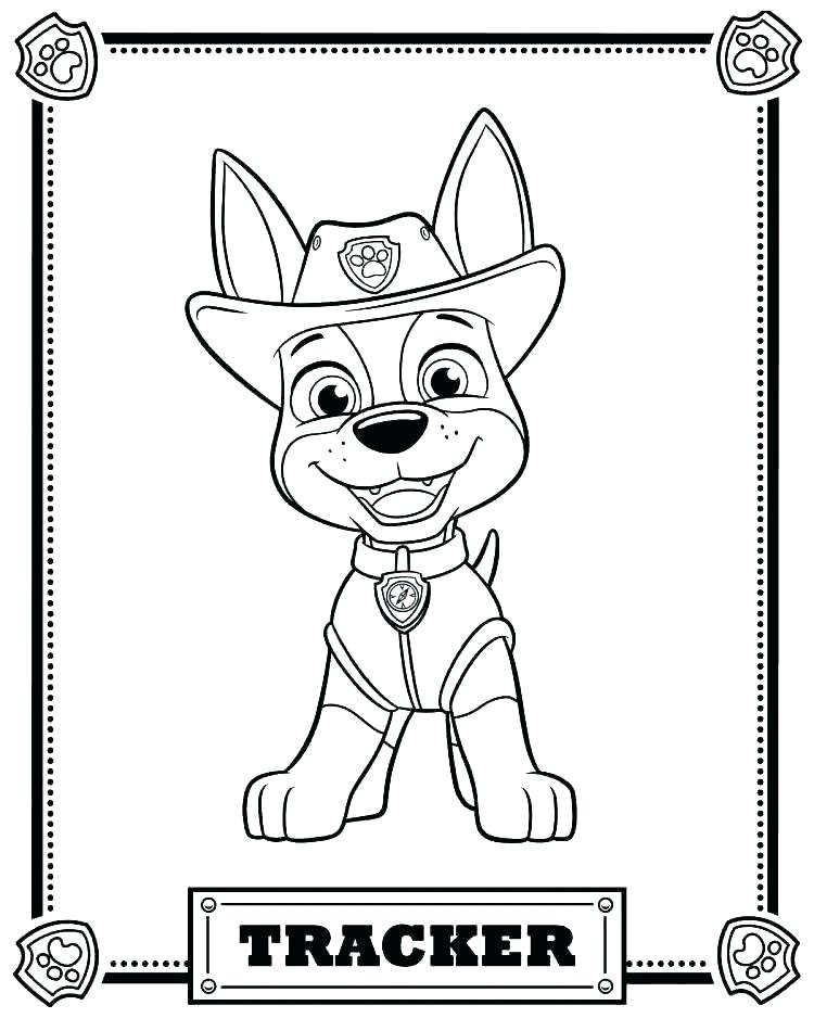 Colouring Pages To Print Paw Patrol - Pusat Hobi