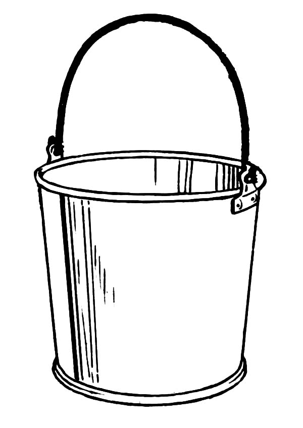 paint bucket coloring page coloring coloring pages