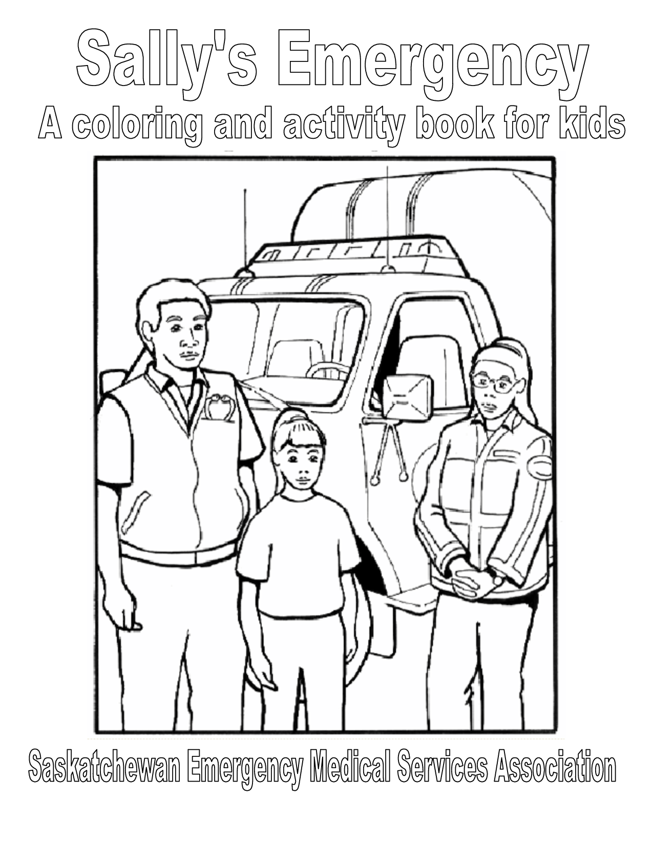 paramedics coloring pages for kids - photo#25